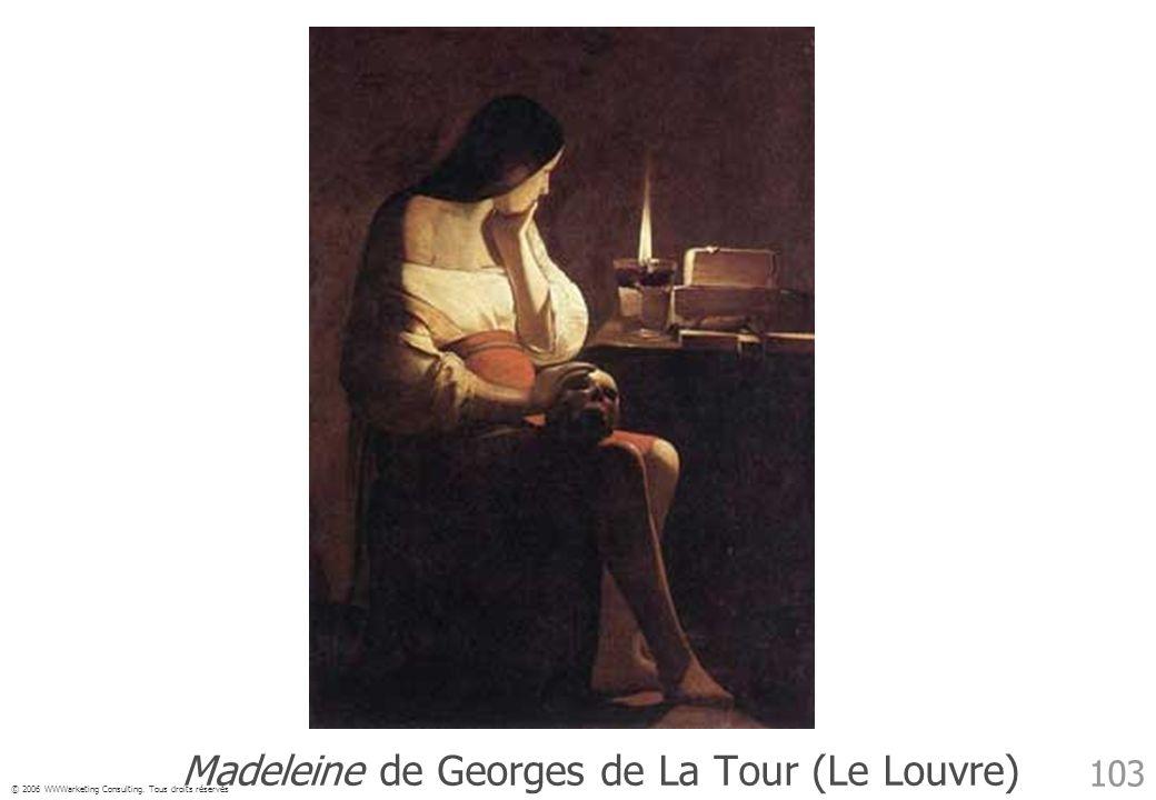 Madeleine de Georges de La Tour (Le Louvre)