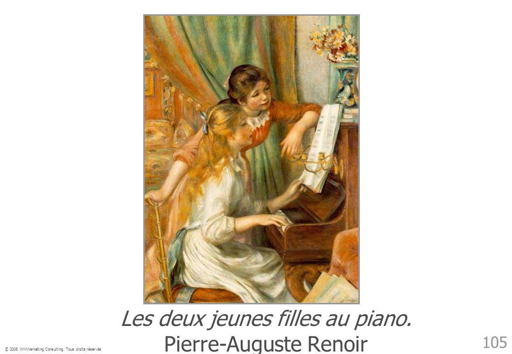 Les deux jeunes filles au piano. Pierre-Auguste Renoir