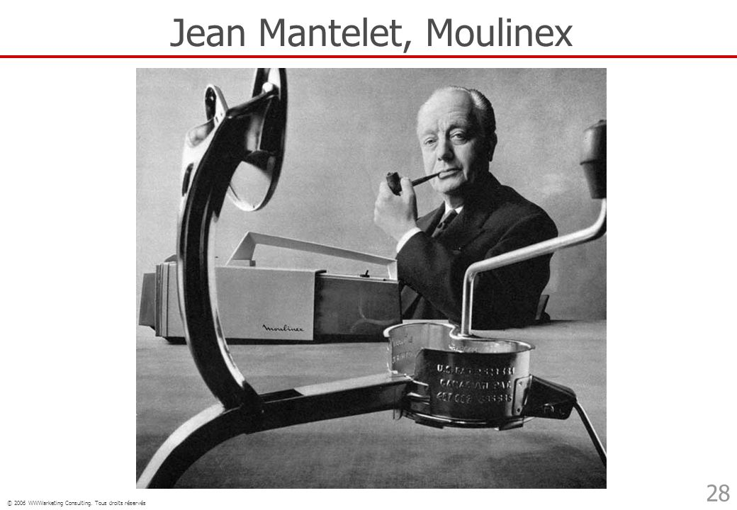 Jean Mantelet, Moulinex