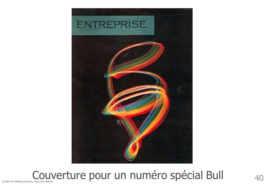 Couverture pour un numéro spécial Bull