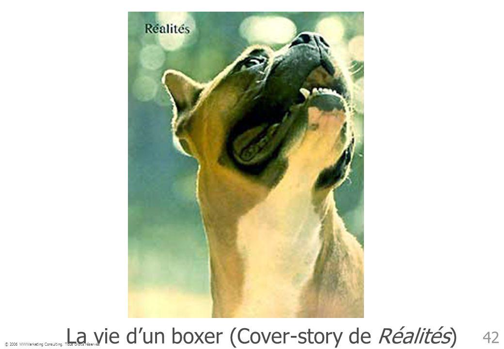La vie d'un boxer (Cover-story de Réalités)