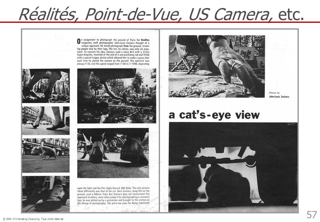 Réalités, Point-de-Vue, US Camera, etc.