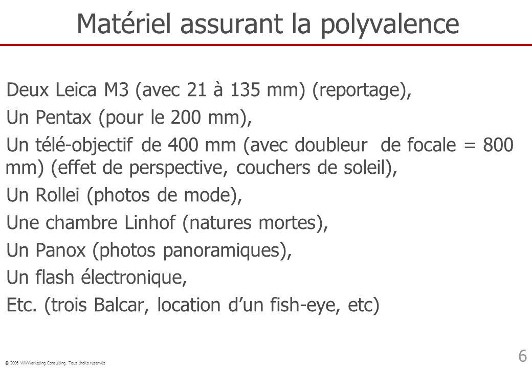 Matériel assurant la polyvalence