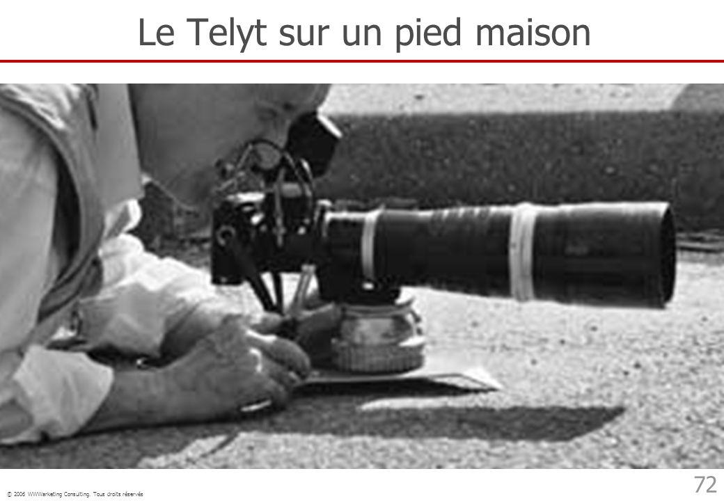 Le Telyt sur un pied maison