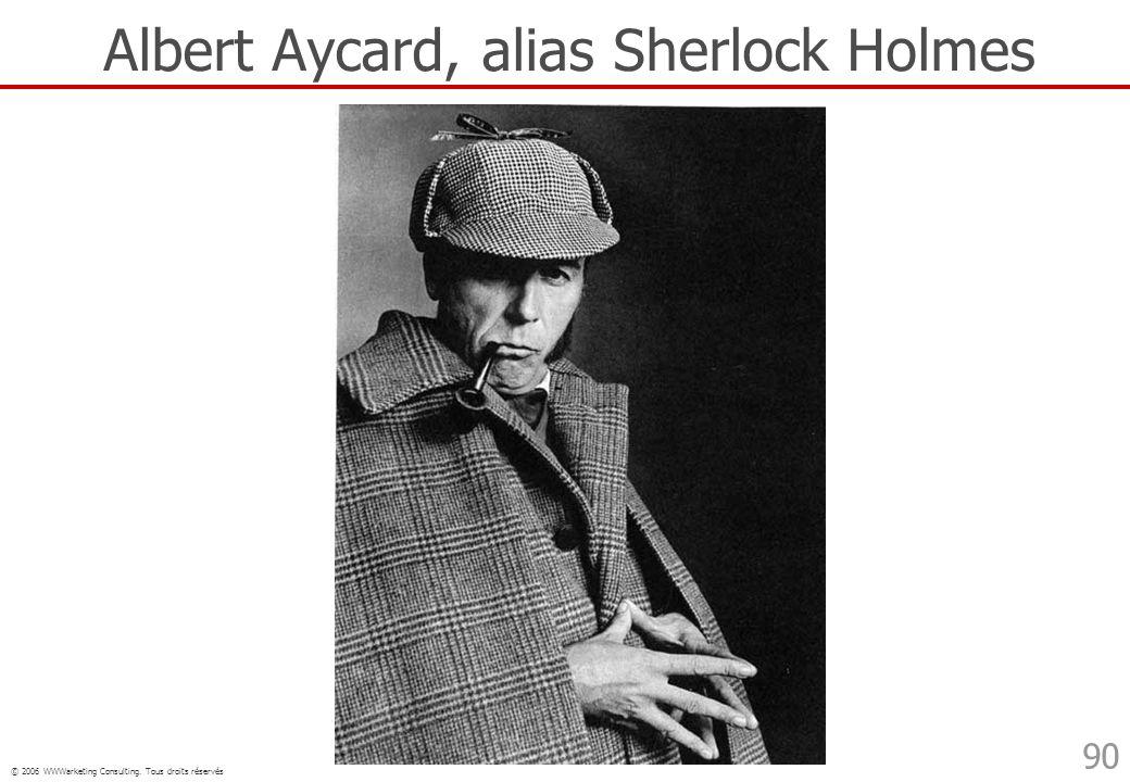 Albert Aycard, alias Sherlock Holmes