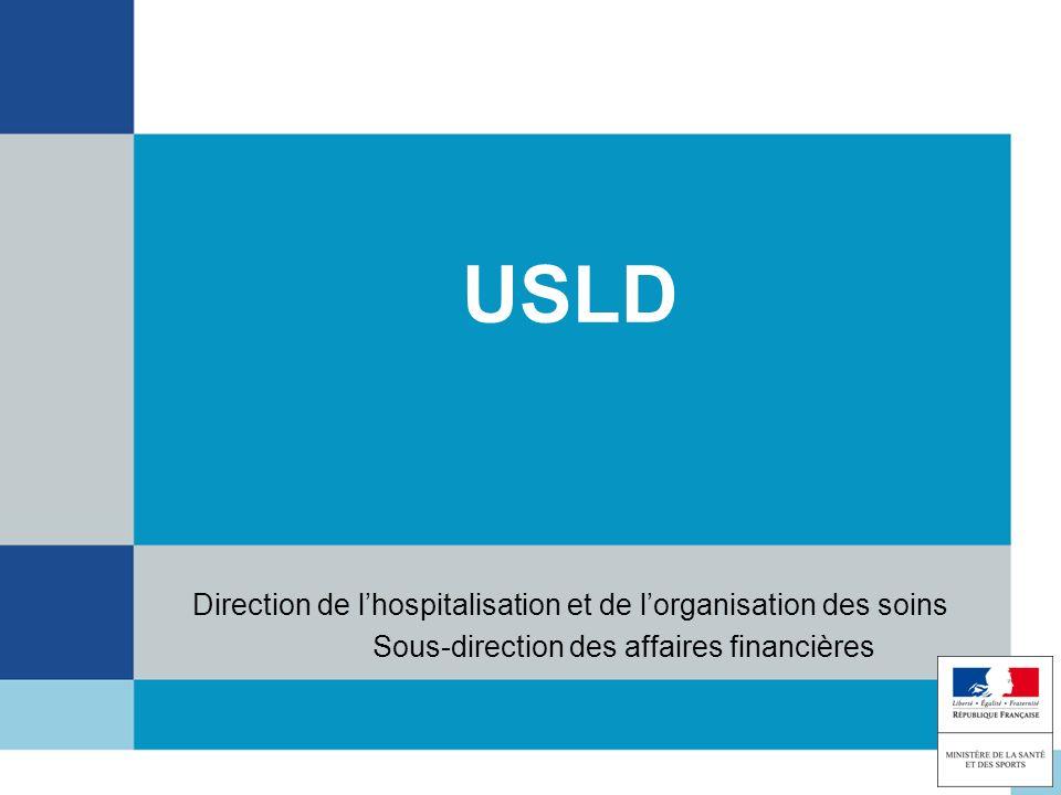 USLD Direction de l'hospitalisation et de l'organisation des soins