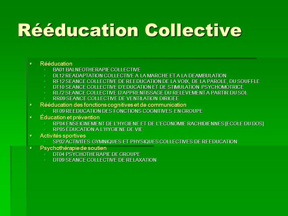 Rééducation Collective