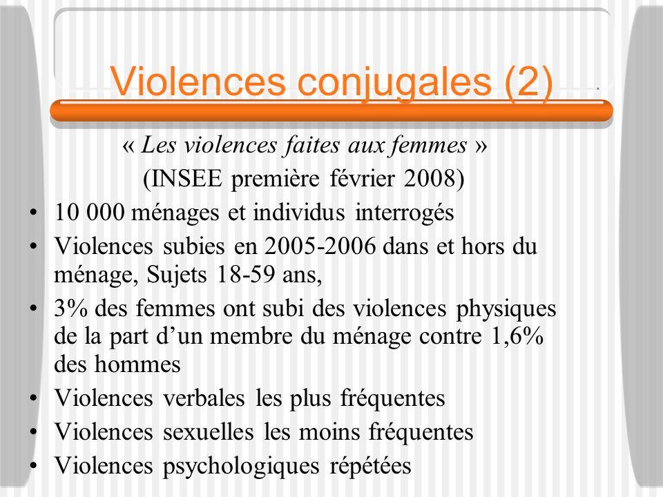 Violences conjugales (2)