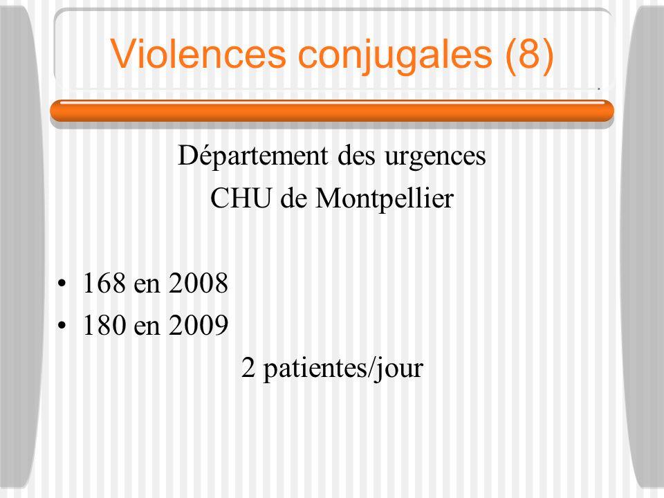 Violences conjugales (8)