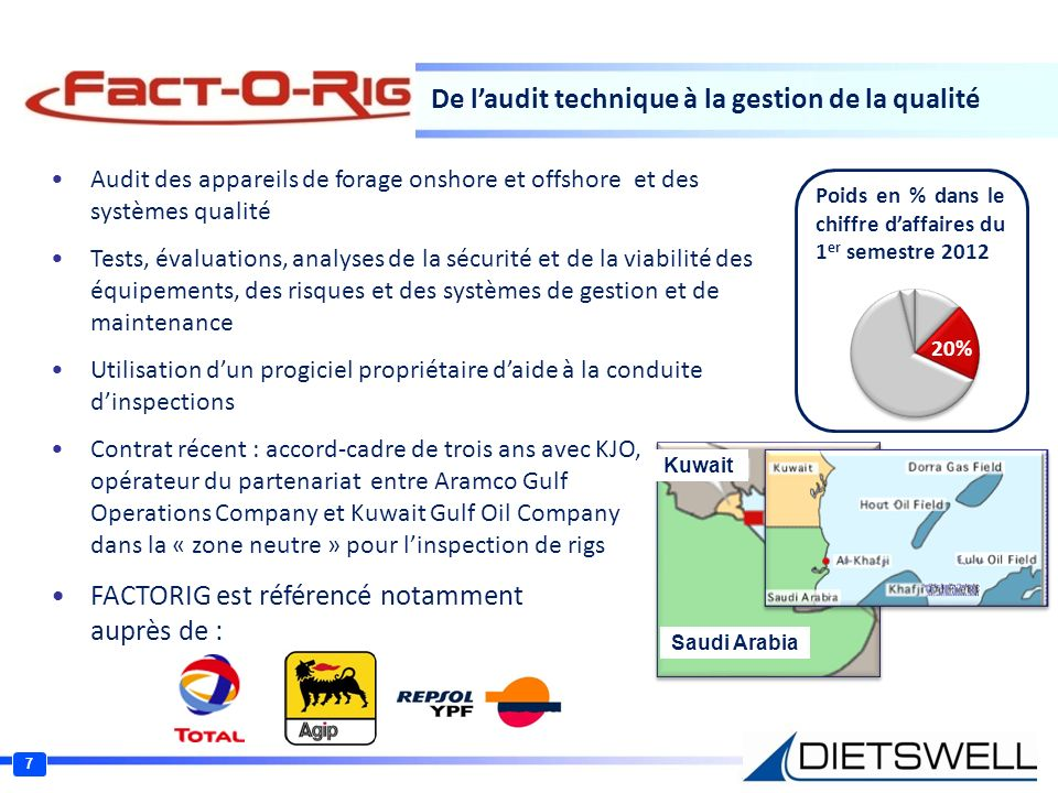 De l'audit technique à la gestion de la qualité