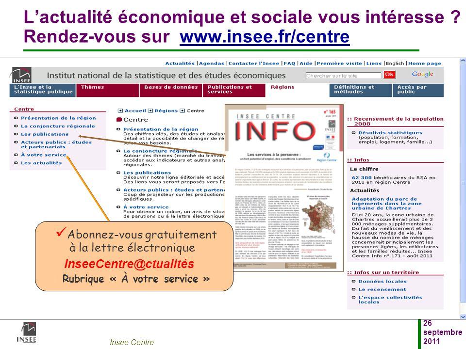L'actualité économique et sociale vous intéresse. Rendez-vous sur www