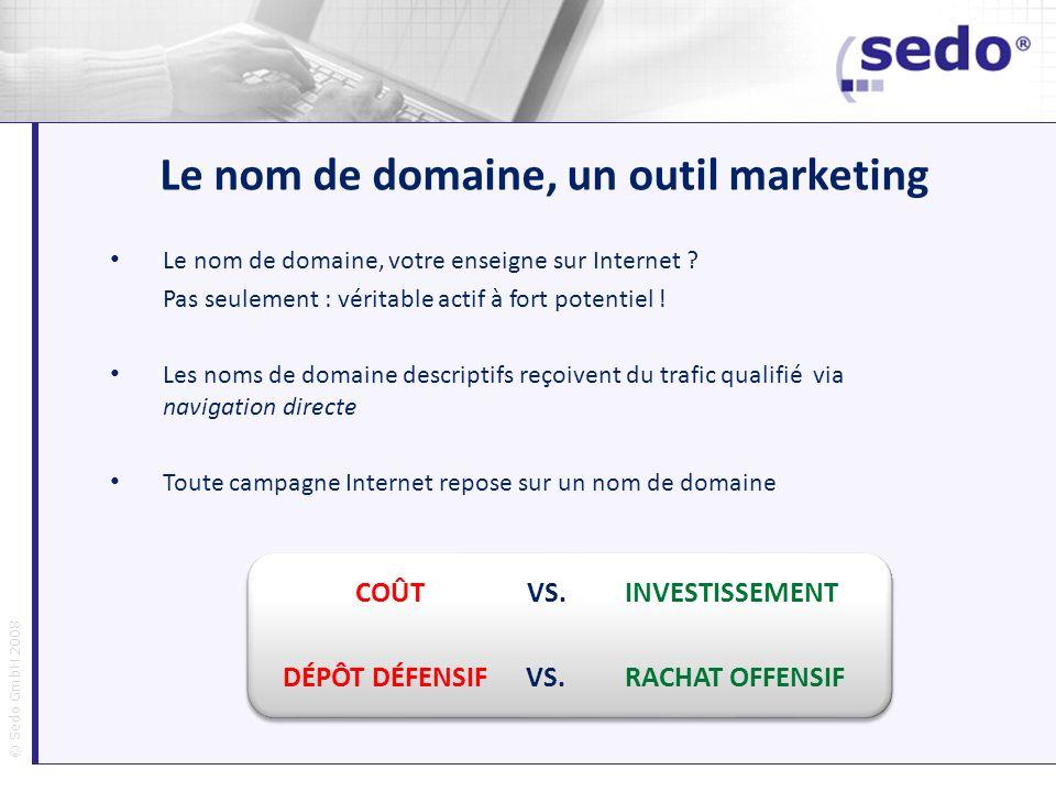 Le nom de domaine, un outil marketing