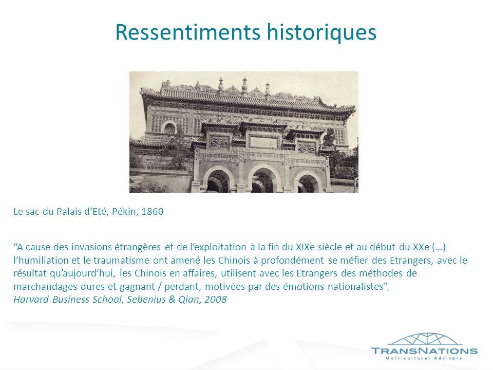 Ressentiments historiques