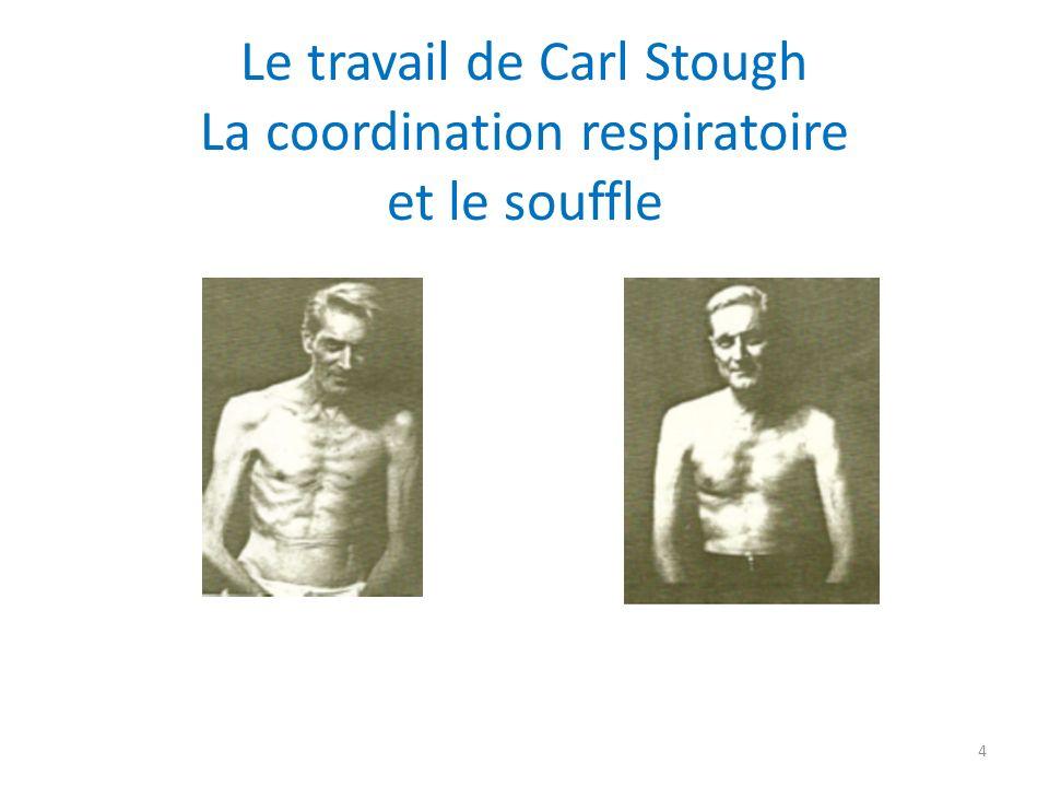 Le travail de Carl Stough La coordination respiratoire et le souffle