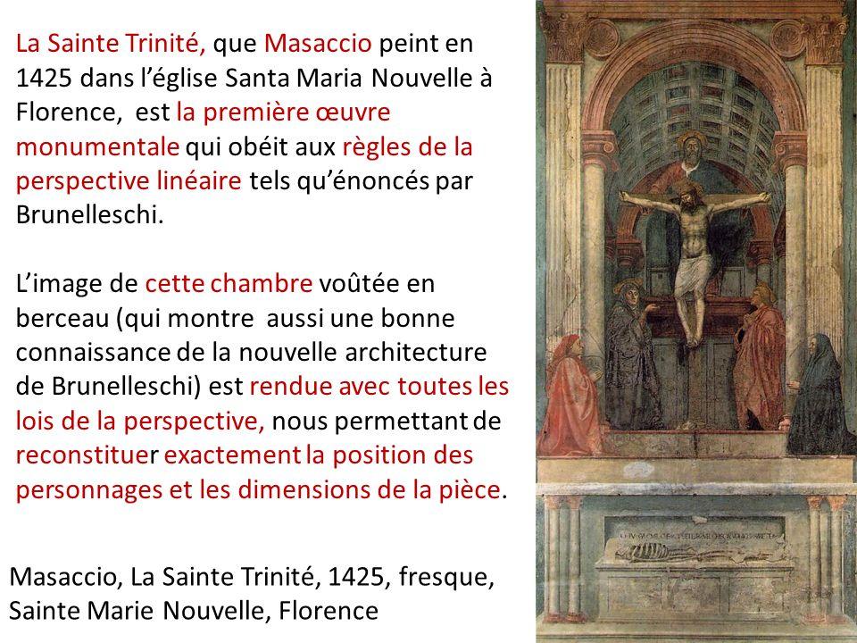 3 3 3 la peinture de la premi re renaissance en italie ppt video online t l charger for Chambre en perspective lineaire