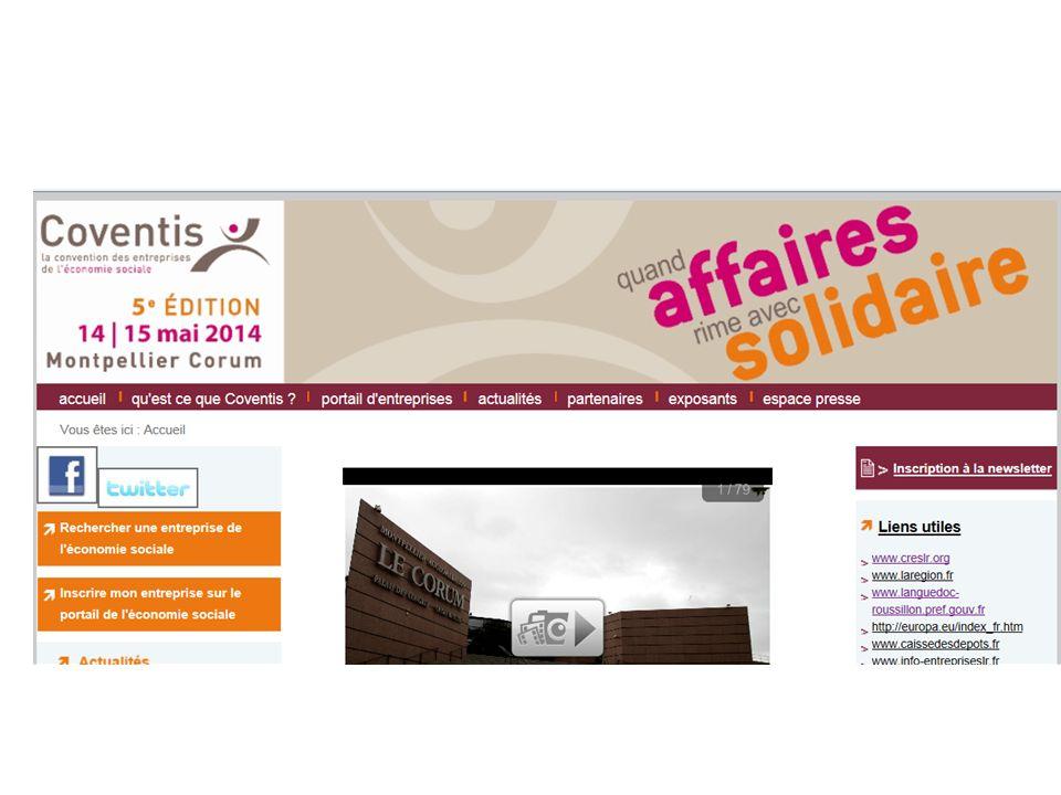 le développement d'affaires et la coopération économique avec Coventis