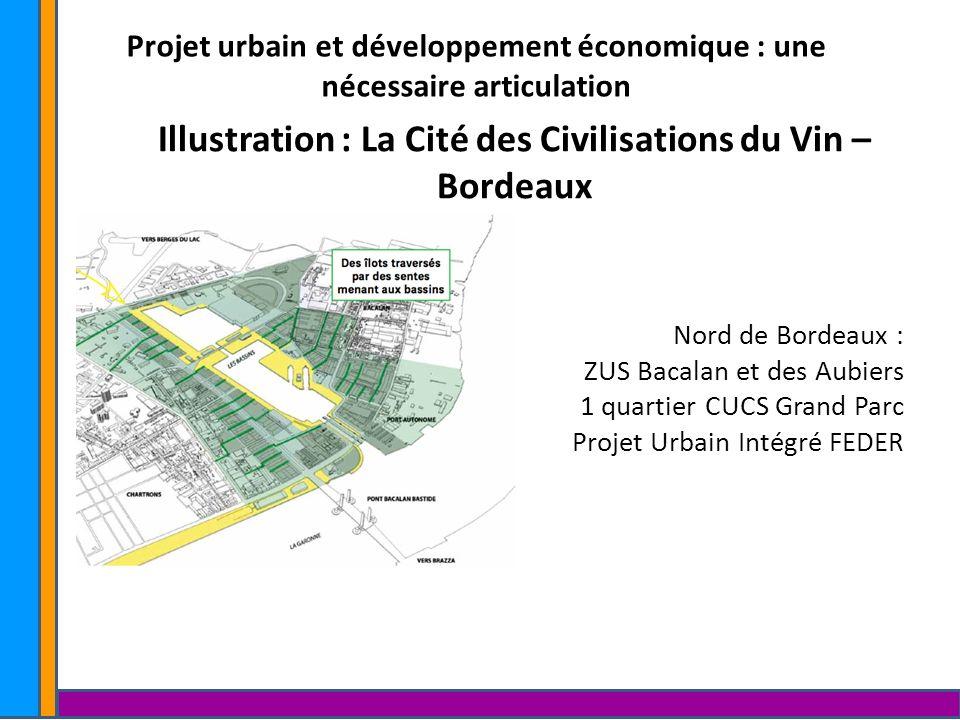 Illustration : La Cité des Civilisations du Vin – Bordeaux