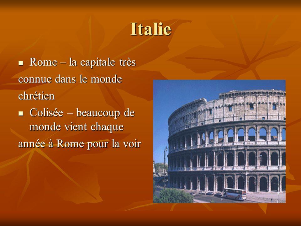 Italie Rome – la capitale très connue dans le monde chrétien