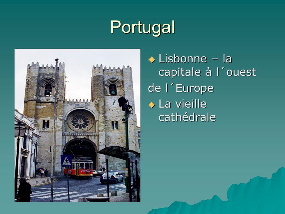 Portugal Lisbonne – la capitale à l´ouest de l´Europe
