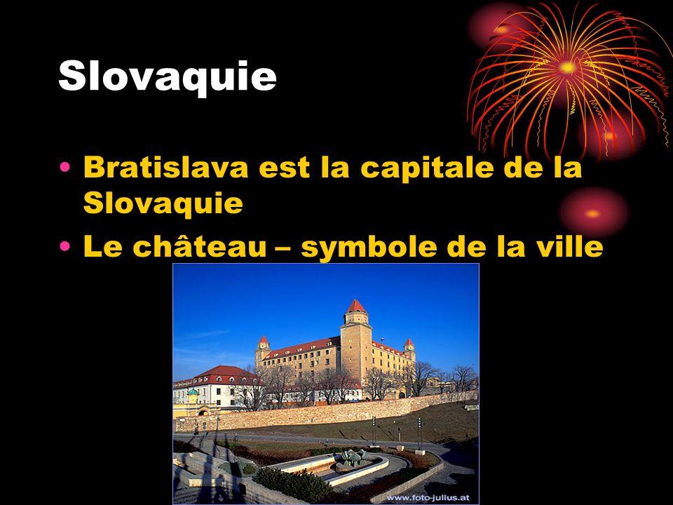 Slovaquie Bratislava est la capitale de la Slovaquie