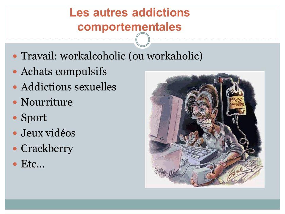 Les autres addictions comportementales