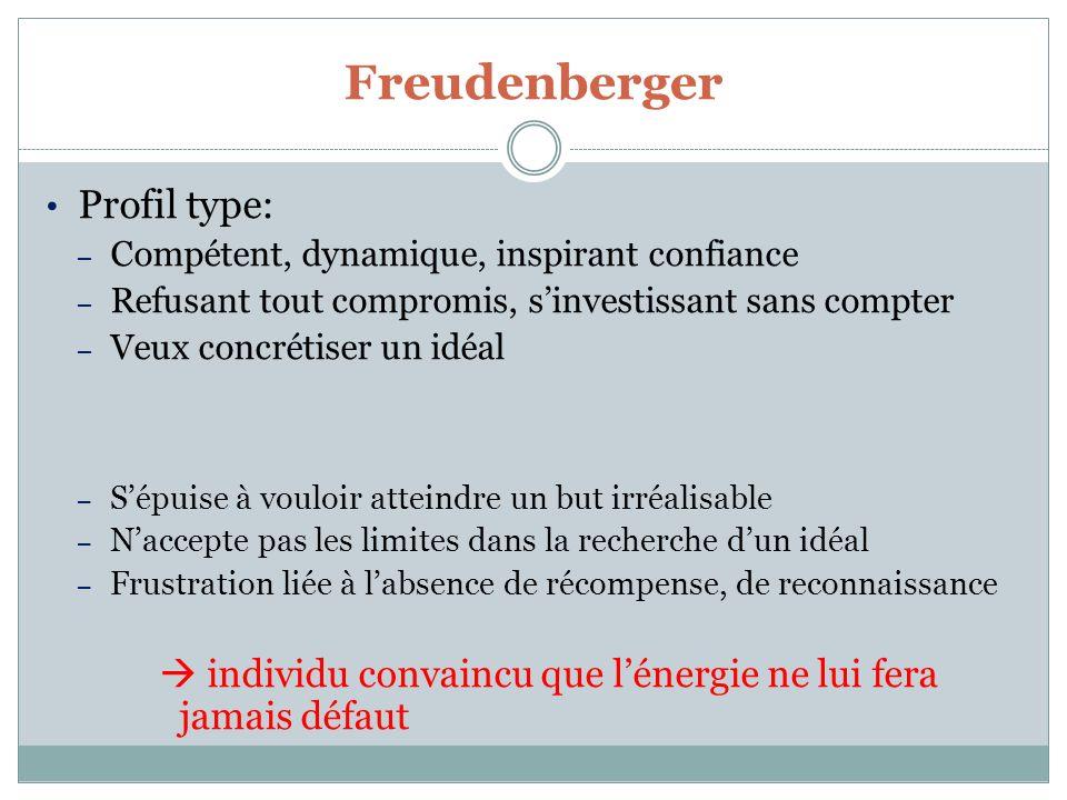Freudenberger Profil type: Compétent, dynamique, inspirant confiance