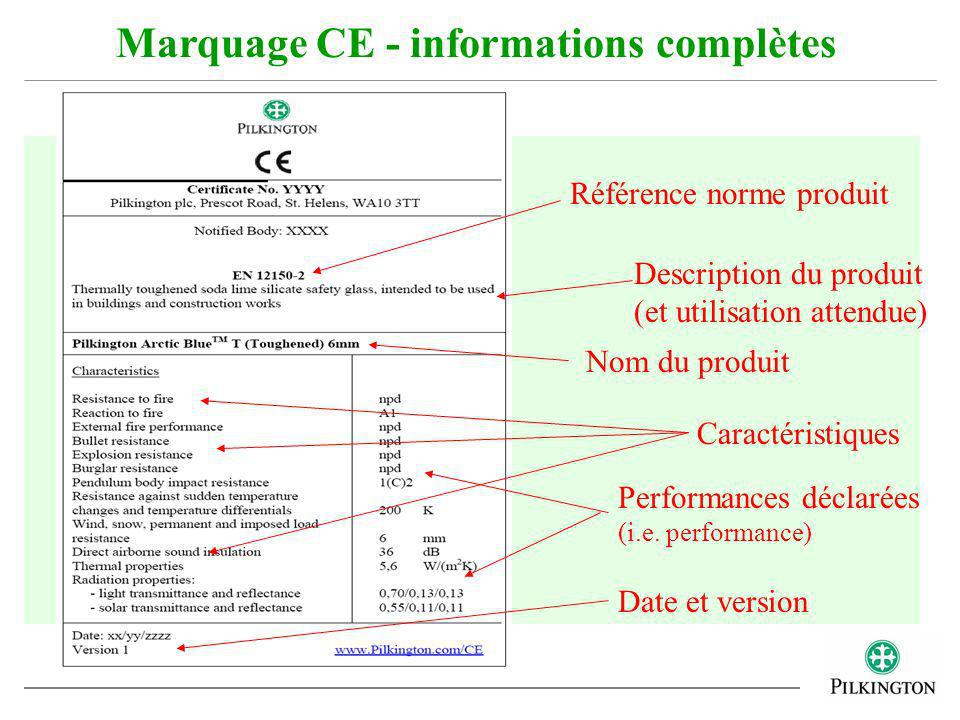 Marquage CE - informations complètes