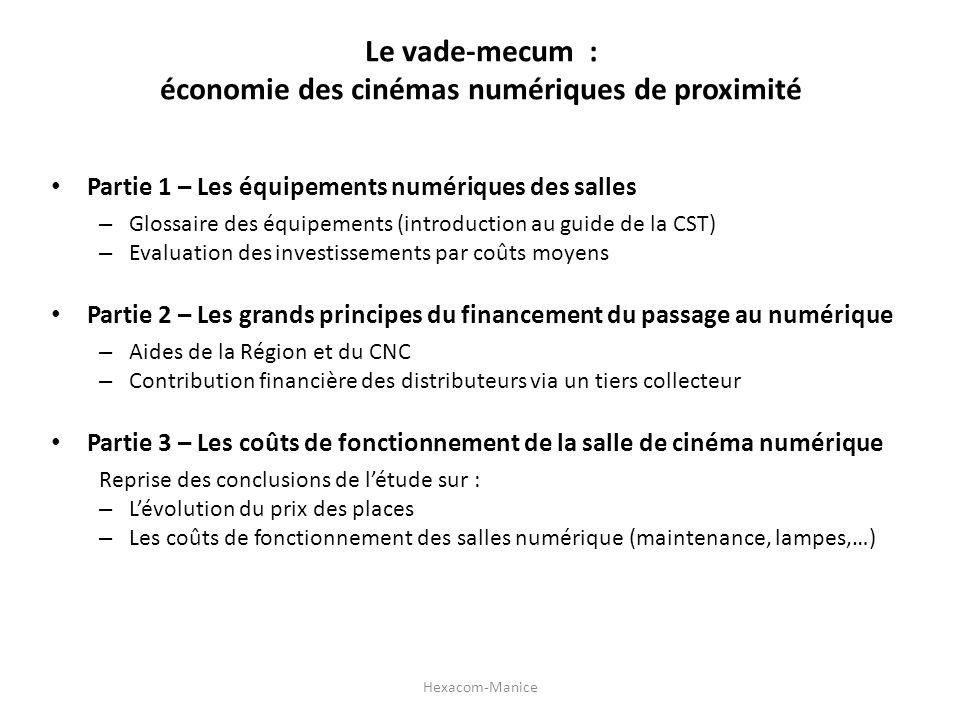 Le vade-mecum : économie des cinémas numériques de proximité