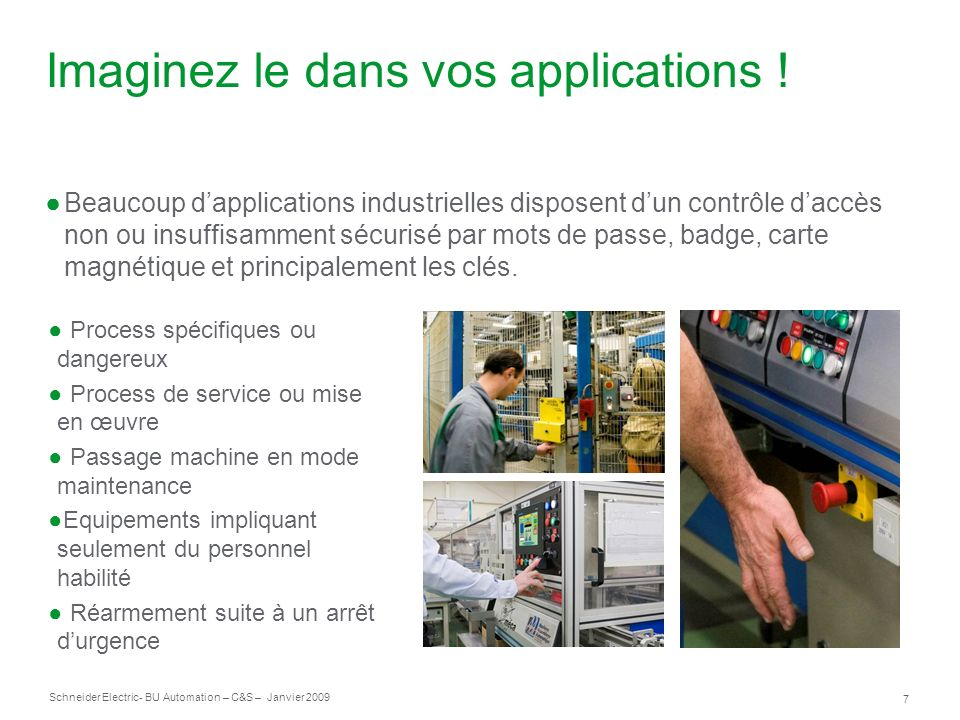 Imaginez le dans vos applications !