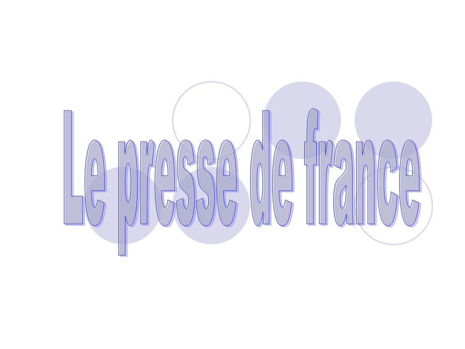 Le presse de france