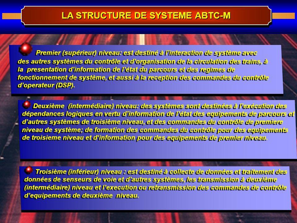 LA STRUCTURE DE SYSTEME ABTC-M