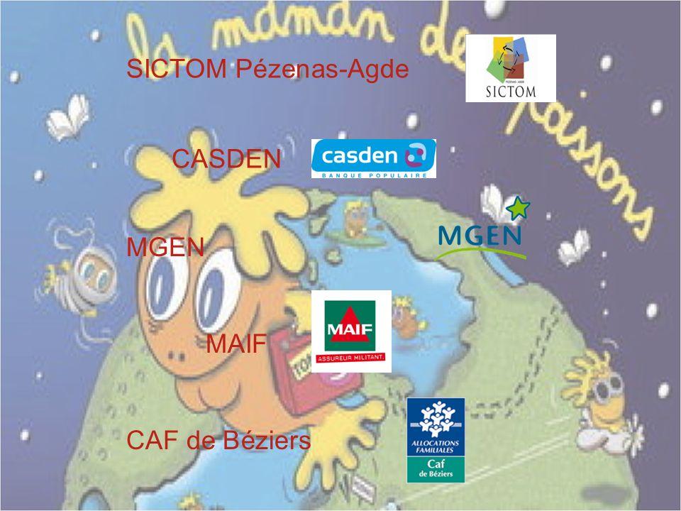 SICTOM Pézenas-Agde CASDEN MGEN MAIF CAF de Béziers