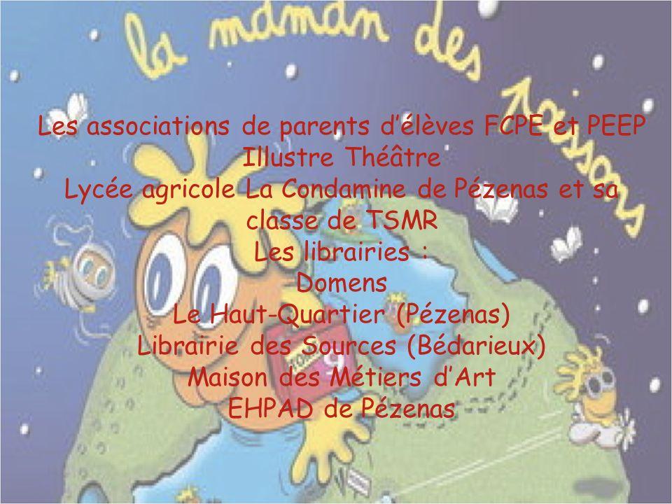 Les associations de parents d'élèves FCPE et PEEP Illustre Théâtre
