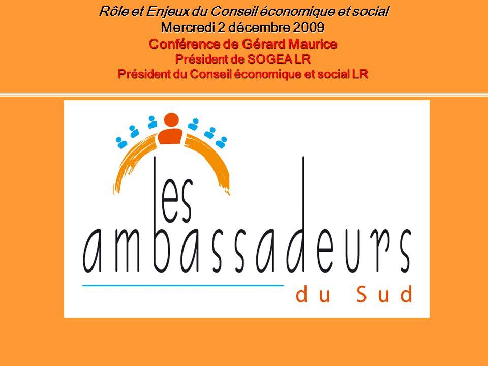 Rôle et Enjeux du Conseil économique et social
