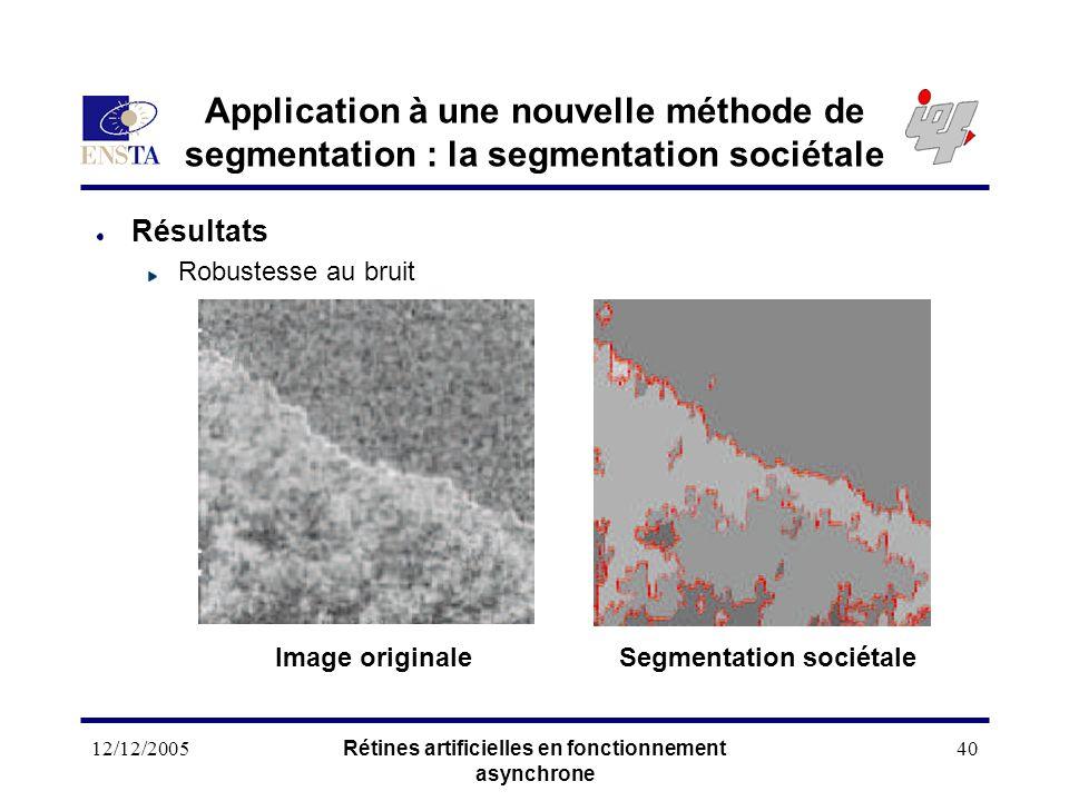 Application à une nouvelle méthode de segmentation : la segmentation sociétale