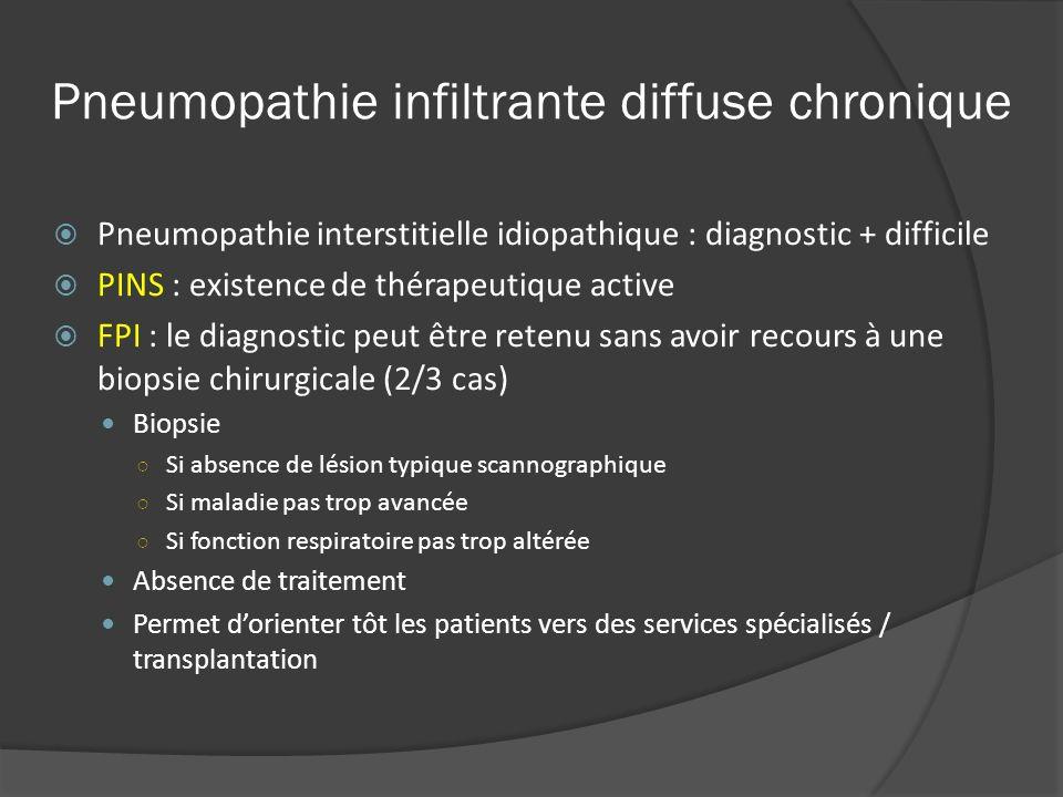 Pneumopathie infiltrante diffuse chronique