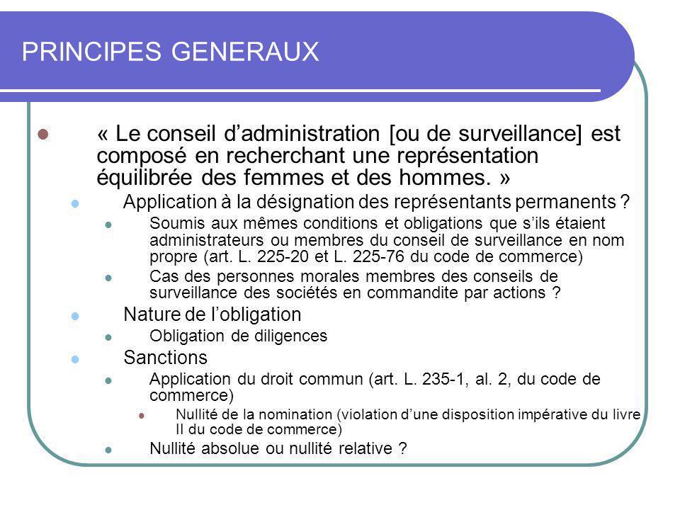 17 JUIN 2009PRINCIPES GENERAUX.