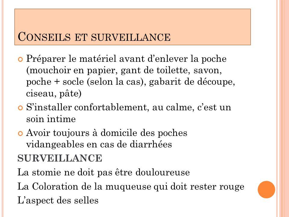 Conseils et surveillance
