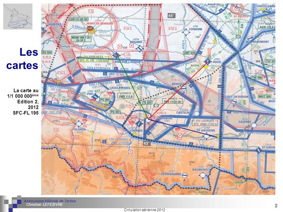 Les cartes La carte au 1/1 000 000ème Edition 2, 2012 SFC-FL 195 2