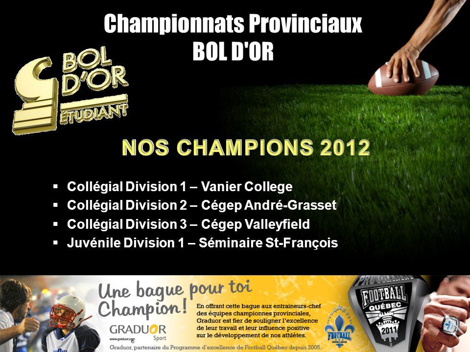 Championnats Provinciaux BOL D OR