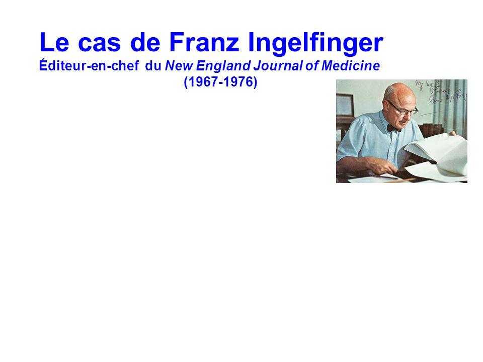 Le cas de Franz Ingelfinger