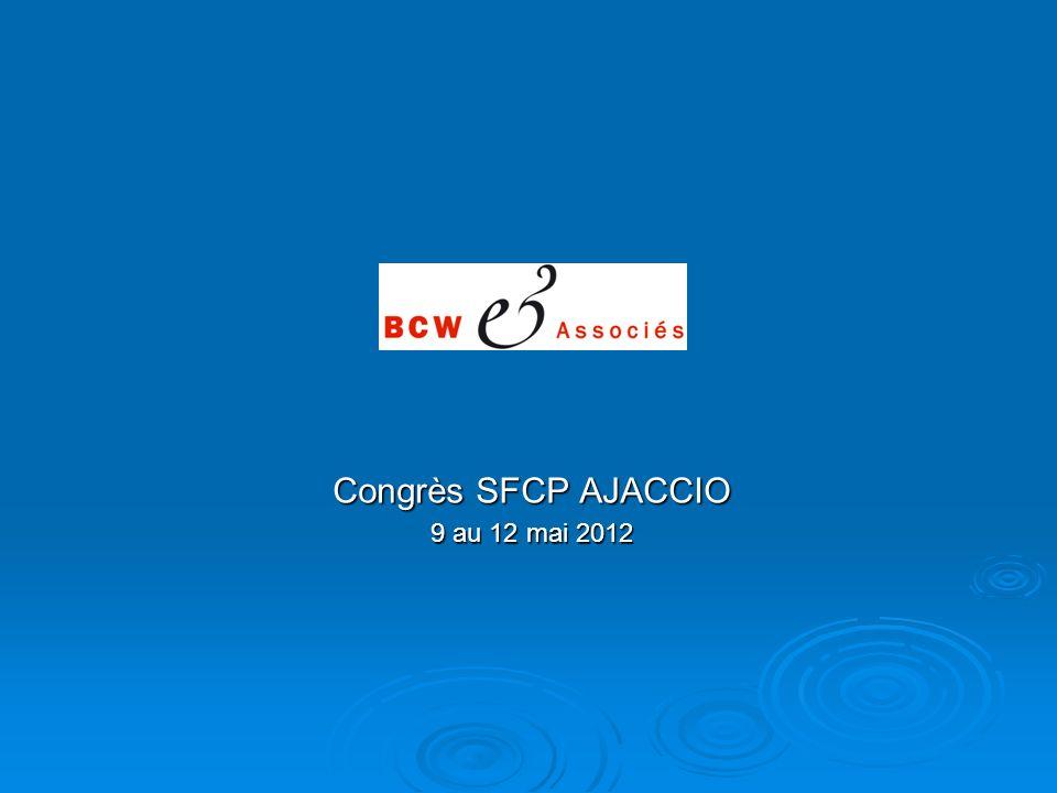 Congrès SFCP AJACCIO 9 au 12 mai 2012