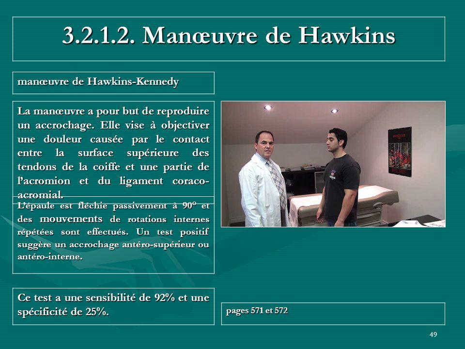 3.2.1.2. Manœuvre de Hawkins manœuvre de Hawkins-Kennedy