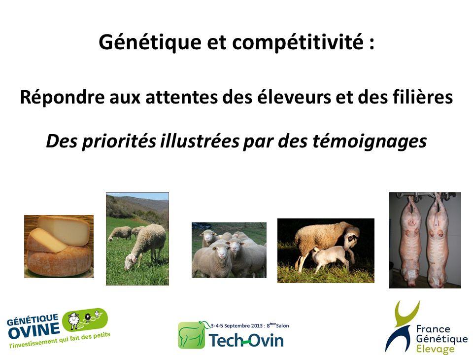Génétique et compétitivité :