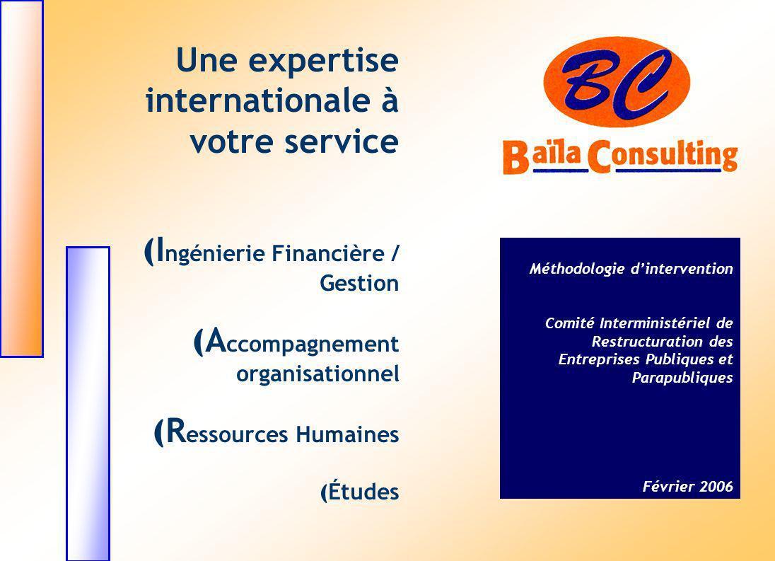 Une expertise internationale à votre service