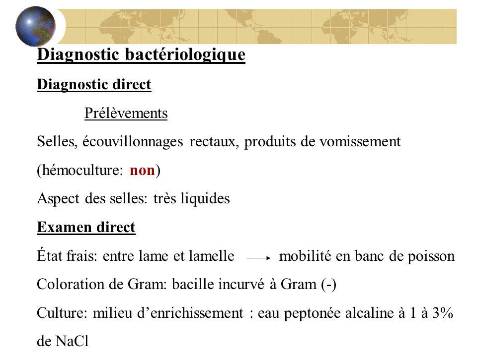 Diagnostic bactériologique