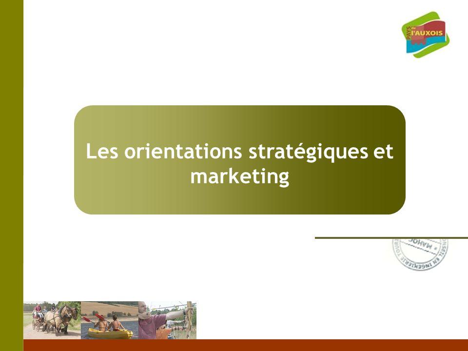 Les orientations stratégiques et marketing