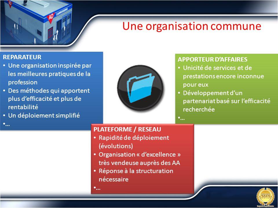 Une organisation commune