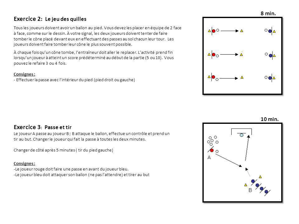 Exercice 2: Le jeu des quilles