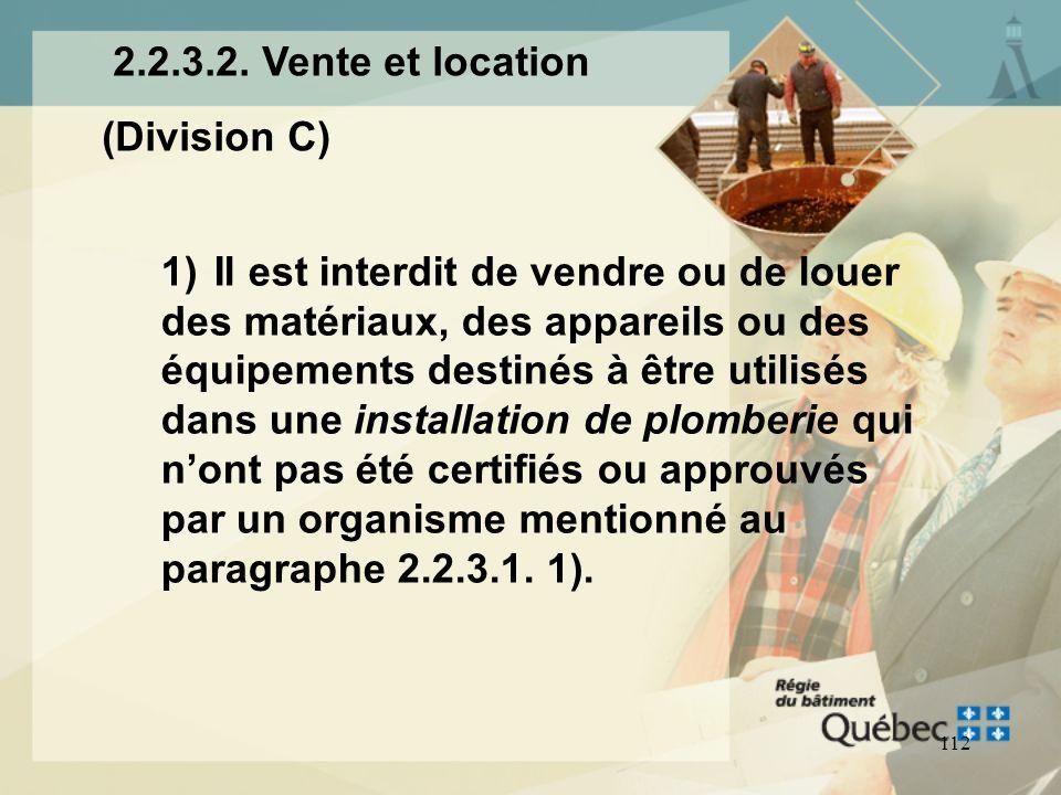 2.2.3.2. Vente et location(Division C)